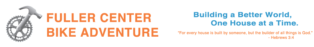 Fuller Center Bike Adventure Logo