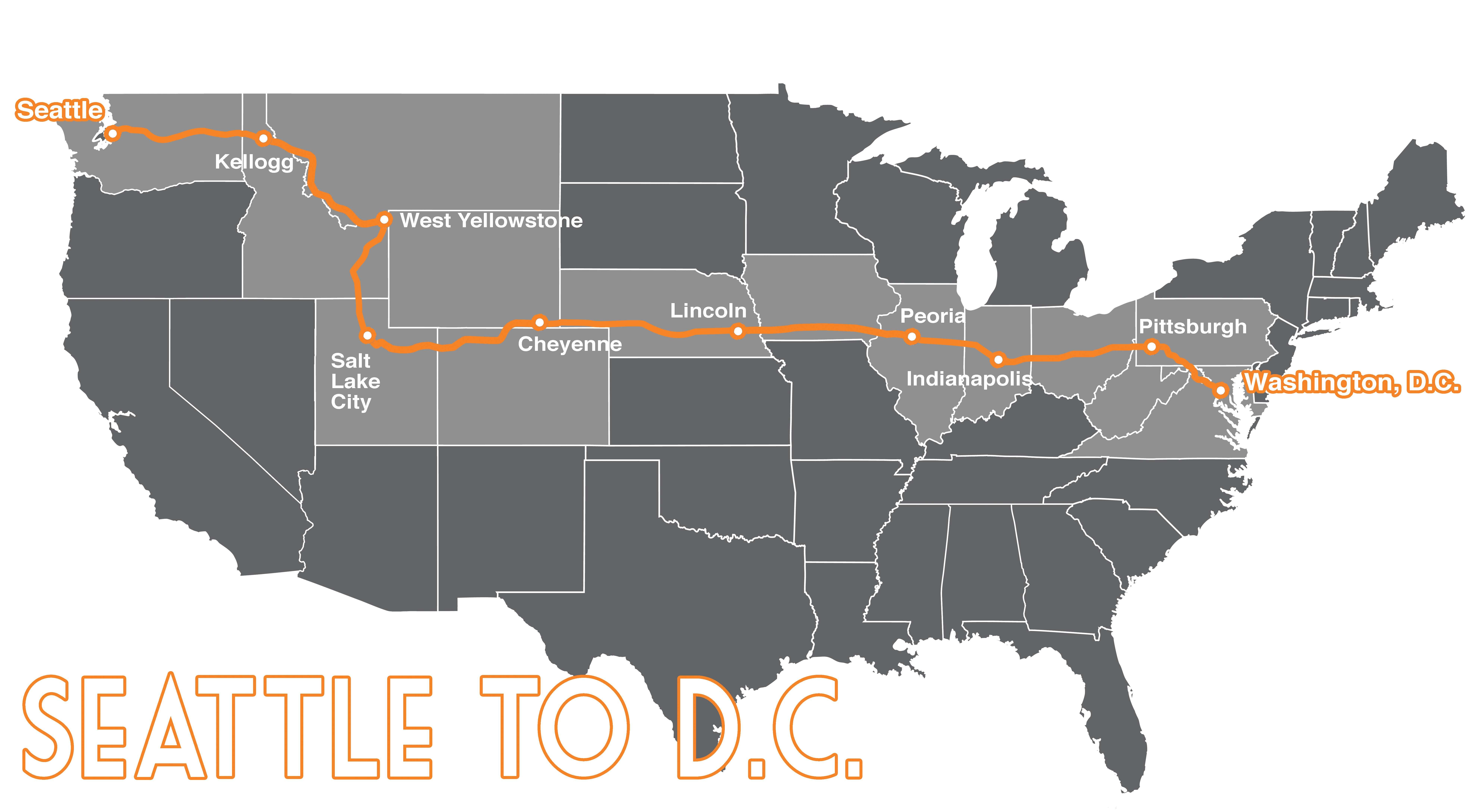 Seattle to D.C. - Fuller Center Bike Adventure on