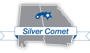 Silver Comet map