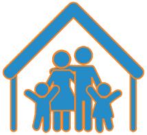 Strong families orange