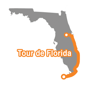 Tour de Florida Map