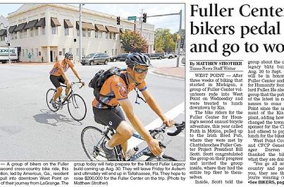 bike newspaper