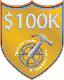 Our most exclusive club of riders who have raised over $100,000 for the Fuller Center.