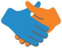 Handshake orange