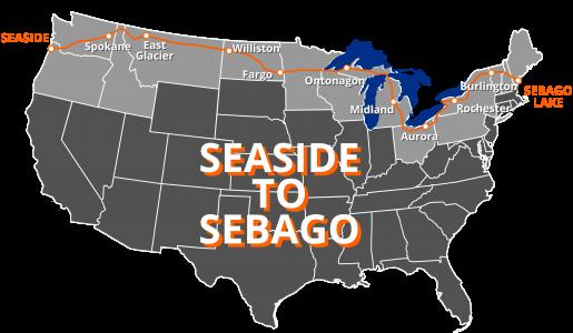 Seaside to Sebago